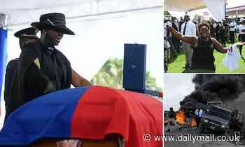 Gunfire breaks out at funeral for assassinated Haitian President Jovenel Moise