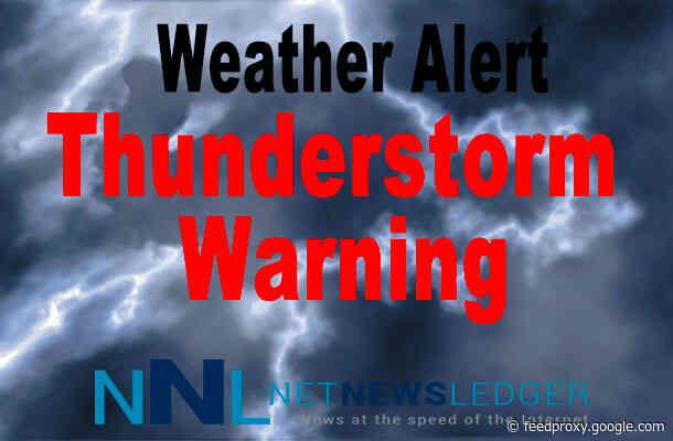 Severe Thunderstorm Watch for Pikangikum – Sandy Lake – Deer Lake Regions