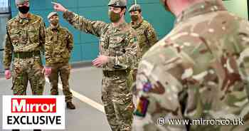 Ministers accused of 'letting Covid rip' through Army as positive tests up 63%