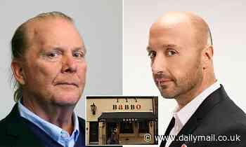 Celebrity chef Mario Batali settles harassment probe for $600,000