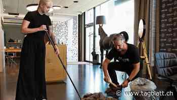 Widnau: Dieser Coiffeursalon verwertet abgeschnittenes Haar - St.Galler Tagblatt