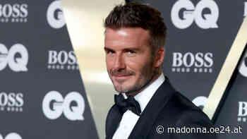 David Beckham färbte Haar wieder blond - Madonna24