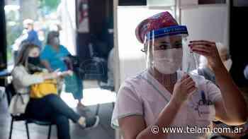 La Ciudad de Buenos Aires empezó a vacunar a jóvenes a partir de 18 años - Télam