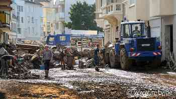 Regional Starkregen möglich: Flutgebiete wappnen sich für neue Unwetter