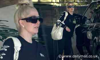 RHOBH Erika Jayne, 50, attempts to shake off her legal woes as she heads to a dance class