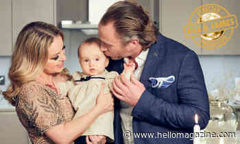 Ola and James Jordan's daughter Ella tries on mum's Strictly costumes - see video