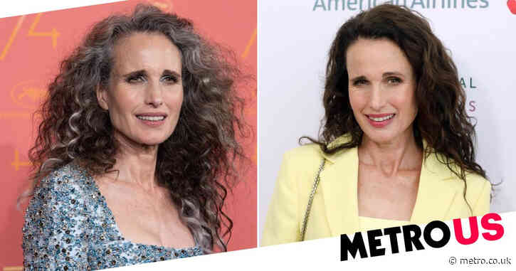 Andie MacDowell says managers tried to stop her from going gray but she did it anyway: 'I've never felt more powerful'