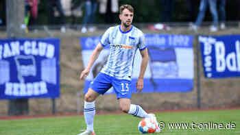 Hertha BSC: Abwehrspieler Lukas Klünter malt für Flutopfer - t-online