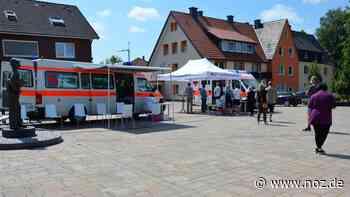 So lief die Impfaktion beim Wochenendeinkauf in Hagen - noz.de - Neue Osnabrücker Zeitung