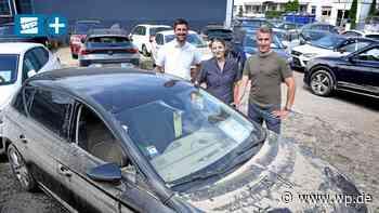 Autohaus in Hagen: Jahrhundertflut zerstört 200 Autos - Westfalenpost