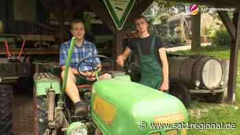 VIDEO | Brüder aus Hagen sammeln Traktoren und andere Landmaschinen aus vergangenen Zeiten - SAT.1 REGIONAL - Sat.1 Regional