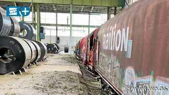 Hochwasser: Tausende Tonnen Metall stecken in Hagen fest - WP News