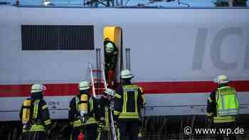 Rauch im ICE - 100 Fahrgäste in Hagen evakuiert - WP News
