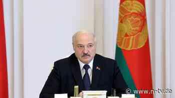 """Angriff auf Zivilgesellschaft: Lukaschenko will Dutzende NGOs """"liquidieren"""""""