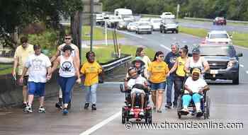 Key Center runners cross the Suwannee River   Local News   chronicleonline.com - Citrus County Chronicle
