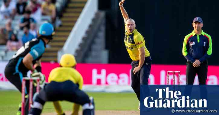 Jake Lintott reviving English left-arm wrist-spin after half a century | Jonathan Liew