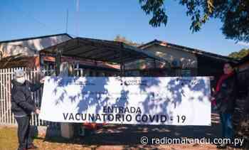 Luego de muchos reclamos Carmen del Paraná contará con su anhelado vacunatorio - radiomarandu.com.py