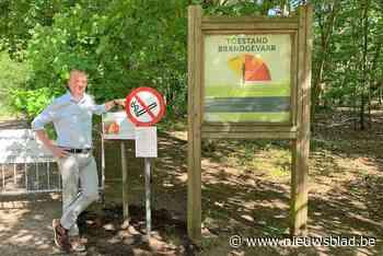 Burgemeesters Grenspark Kalmthoutse Heide voeren samen rookv... (Kalmthout) - Het Nieuwsblad