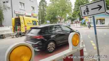 Bauarbeiten für Famila-Markt: Ladestraße in Leeste wird gesperrt - WESER-KURIER - WESER-KURIER