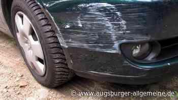 Unfallflucht: Auto in Kissing angefahren - Augsburger Allgemeine