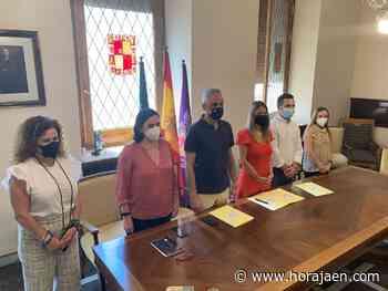 El Ayuntamiento de Jaén suscribe un convenio con AJE y MÜY - HoraJaén
