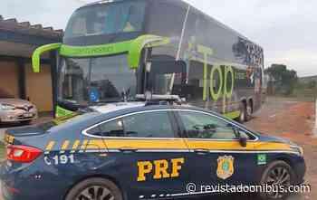 RJ: PRF apreende ônibus adulterado na BR-101, em Campos dos Goytacazes - REVISTA DO ÔNIBUS