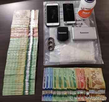 Drug bust in Sturgeon nets Fentanyl, cash and brass knuckles