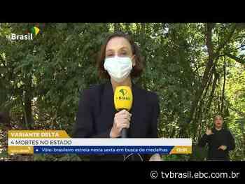 Rio de Janeiro registra 4 mortes pela variante Delta | Repórter Rio | TV Brasil | Notícias - EBC