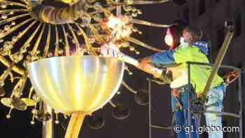 Prefeitura reacende a pira olímpica da Rio 2016 - G1