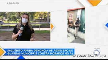 Inquérito apura agressão de policiais a morador do Rio de Janeiro - Record TV