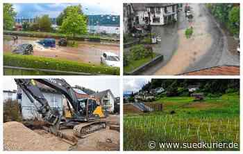 Bodman-Ludwigshafen: Juli-Unwetter wecken Erinnerungen an Überflutungen von 2017: Wie der Hochwasserschutz jetzt aussieht und was noch in Bodman-Ludwigshafen getan werden muss - SÜDKURIER Online