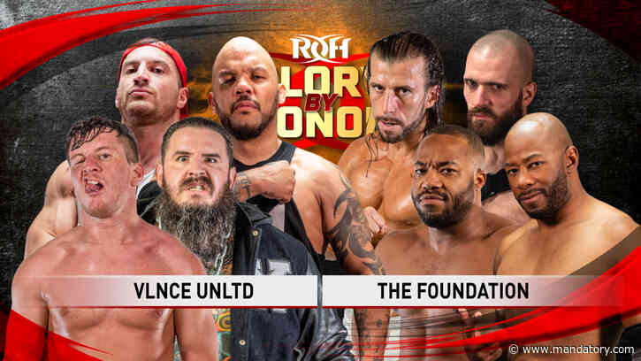 The Foundation vs. Violence Unlimited Set For ROH Glory By Honor Night Two, Updated Card