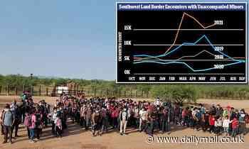 At least 147 unaccompanied children detained by U.S. Border Patrol agents in Arizona
