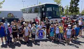 Les Lions de Saint-Gilles-Croix-de-Vie offrent des vacances à quatre jeunes Hilairois - maville.com