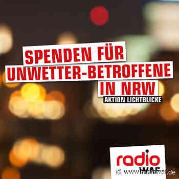 Hochwasser: Ahlen, Beckum und Drensteinfurt wollen einen Euro pro Einwohner spenden - Radio WAF