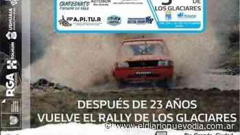 El Calafate: en octubre regresa el Rally de Los Glaciares - El Diario Nuevo Dia
