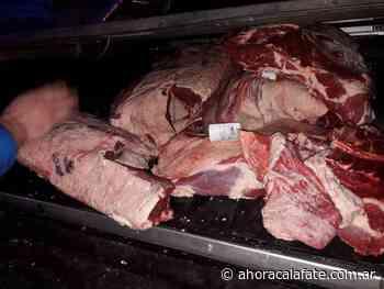 Decomisan 150 kg de carne en un mercado de El Calafate - FM Dimensión - El Calafate