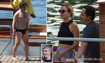 Google co-founder Sergey Brin is enjoying vacation with his wife at Lake Como