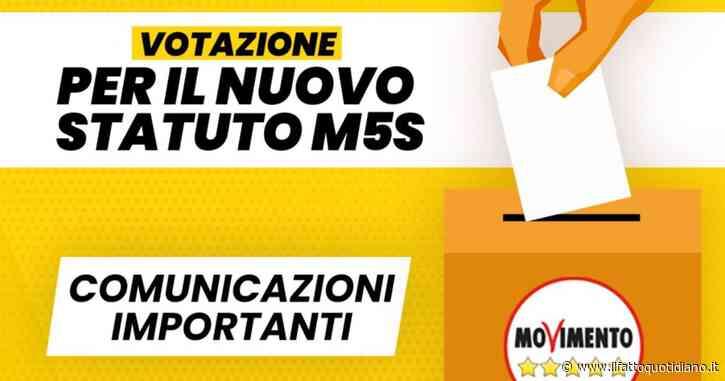 """M5s convoca il voto online per il """"nuovo Statuto associativo"""": urne virtuali aperte il 2 e 3 agosto su SkyVote"""