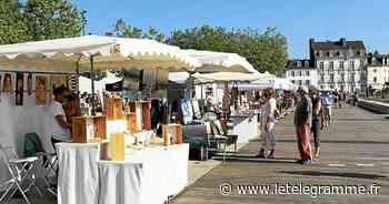 Une quarantaine d'artisans et créateurs réunis sur le port de Vannes dimanche - Le Télégramme