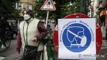 Etterbeek : le port du masque à nouveau obligatoire dans les quartiers commerçants - RTBF