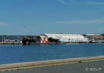Que va devenir l'hydrolienne d'OpenHydro, en attente dans le port de Cherbourg ? - actu.fr
