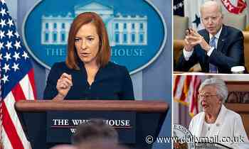 Jen Psaki claims White House will not 'place blame' on those not vaccinated for high COVID rates