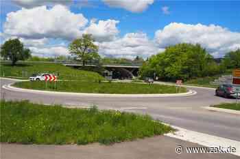 Figur neben Kreisverkehr: Lochenfuchs soll Richtung Weilstetten laufen und nach Balingen schauen - Zollern-Alb-Kurier
