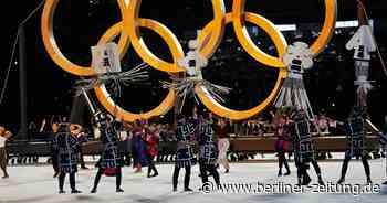Olympia: 206 Teams laufen zur Eröffnungsfeier in Tokio ein - Berliner Zeitung