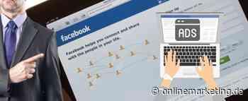 5 Gründe, warum deine Facebook Ads nicht laufen - OnlineMarketing.de