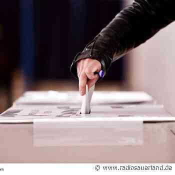 Im Sauerland laufen Vorbereitungen für Bundestagwahl - Radio Sauerland