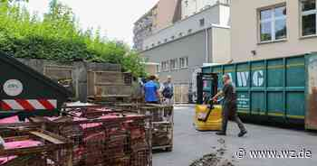 Wuppertaler Hof: Zwei Millionen Liter Wasser laufen bei Flut in Keller - Westdeutsche Zeitung