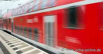 Zugausfälle in Darmstadt, Bensheim und Weinheim - Echo Online