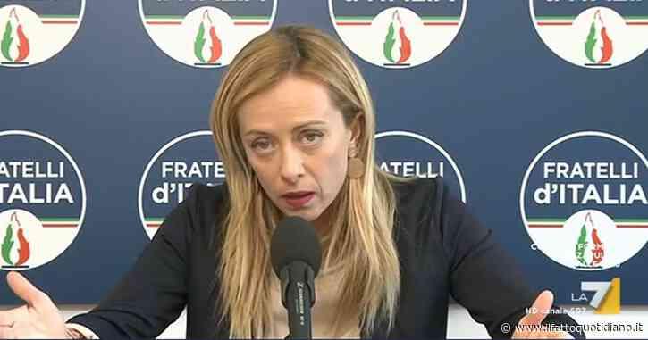 """Green pass, la giravolta di Giorgia Meloni in soli 4 mesi. Da """"primo passo per eliminazione restrizioni"""" a """"misura contro stato di diritto"""""""